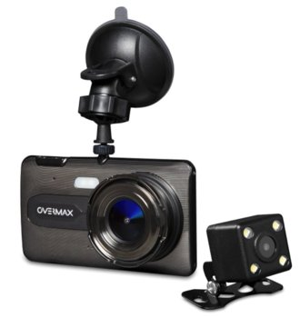 "Kamera samochodowa wideorejestrator OVERMAX CAMROAD 6.2 ekran 4"" + kamera cofania-Overmax"