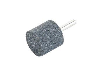 Kamień ścierny na trzpieniu cylindryczny, czarny 16x30x6mm-Verkatto
