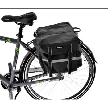 Kands, Sakwa na bagażnik, podwójna, czarny, 36l-Kands