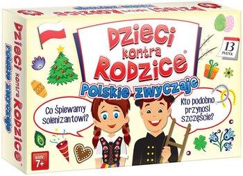 Kangur, Dzieci kontra rodzice, gra edukacyjna Polskie zwyczaje-Kangur
