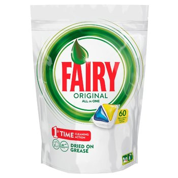 Kapsułki do zmywarki, FAIRY Original All In One Lemon, 60 szt.  - Fairy