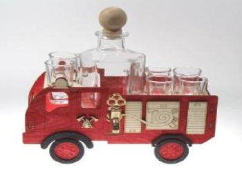 Karafka na alkohol - wóz, 500 ml + 6 szt. kieliszków-Pigmejka