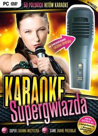 Karaoke supergwiazda (z mikrofonem)