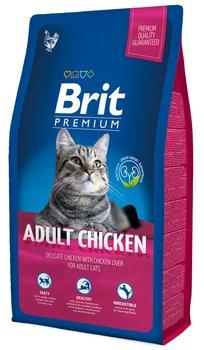 Karma sucha dla kota BRIT Premium Cat Adult Chicken, 8 kg-Brit