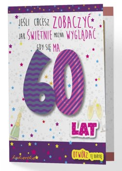 Karnet na 60 urodziny, PCDK 489-Kukartka