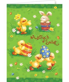 Karnet na Wielkanoc bez życzeń  PBW-BT 19-Czachorowski
