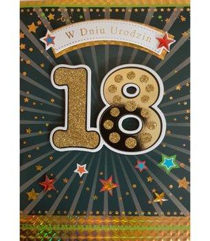 Karnet okolicznościowy, 18 urodziny, M 558-Maja