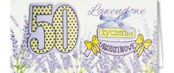Karnet okolicznościowy, 50 urodziny, EZ 154-ENZO