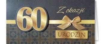 Karnet okolicznościowy, 60 urodziny, EZ 160-ENZO