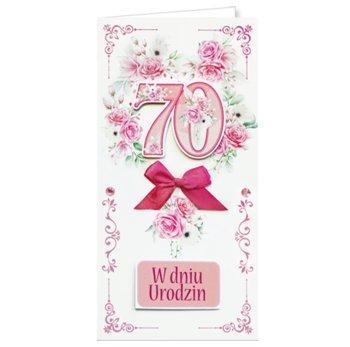 Karnet okolicznościowy, 70 urodziny, EZ 166-ENZO