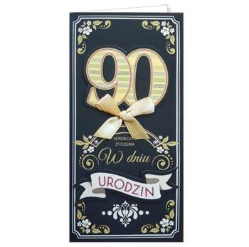 Karnet okolicznościowy, 90 urodziny, EZ 165-ENZO
