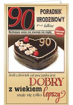 Karnet okolicznościowy, 90 urodziny, U69-AB Card