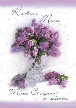 Karnet okolicznościowy dla mamy, DMO 04-Czachorowski