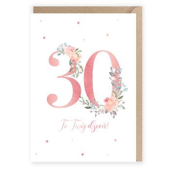 Karnet okolicznościowy na 30 urodziny-Cardie