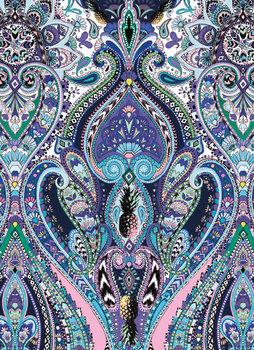 Karnet okolicznościowy, Purple Paisley