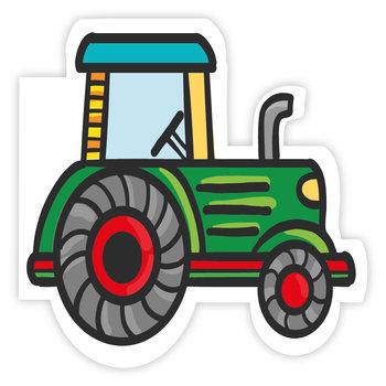 Karnet okolicznościowy, traktor