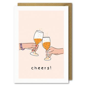 Karnet okolicznościowy, urodziny, Cheers