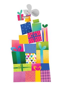 Karnet okolicznościowy, Urodziny, Myszka-Henry