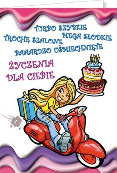 Karnet urodzinowy, Young 11-Stamp
