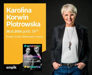 Karolina Korwin Piotrowska, Grzegorz Kramer | Scena Empik Junior