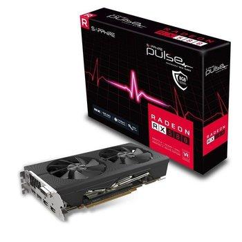 Karta graficzna SAPPHIRE Pulse Radeon RX 580, 8 GB GDDR5, PCI Express x16-Sapphire