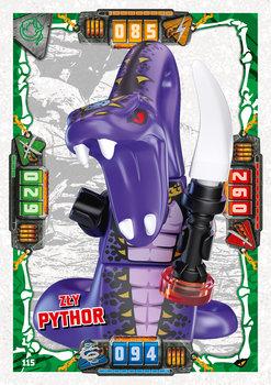 Karta LEGO NINJAGO TCG seria 4 - 115 Zły Pythor
