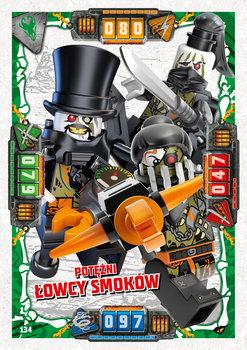 Karta LEGO NINJAGO TCG seria 4 - 134 Potężni Łowcy Smoków
