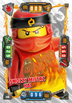Karta LEGO NINJAGO TCG seria 4 - 138 Smoczy Mistrz Kai