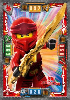 Karta LEGO NINJAGO TCG seria 4 - 18 Kai dziedzictwo