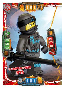 Karta LEGO NINJAGO TCG seria 4 - 23 Ultrapojedynek Nya