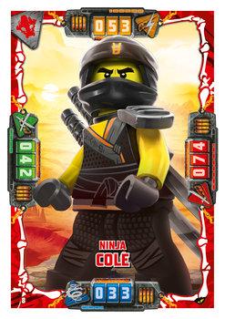 Karta LEGO NINJAGO TCG seria 4 - 8 Ninja Cole