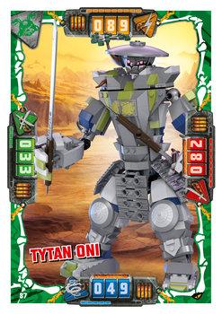 Karta LEGO NINJAGO TCG seria 4 - 87 Tytan Oni