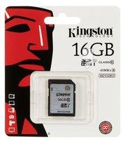 Karta pamięci KINGSTON SD10VG2/16GB, SDHC, 16 GB, Class UHS-I U1