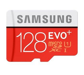 Karta pamięci SAMSUNG Evo Plus, microSDXC, 128 GB, Class 10 UHS-I U1 + adapter SD-Samsung