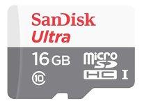 Karta pamięci SANDISK Ultra, microSDHC, 16 GB, Class 10