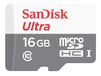 Karta pamięci SANDISK Ultra, microSDHC, 16 GB, Class 10-SanDisk
