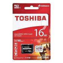 Karta pamięci TOSHIBA M302, microSD, 16 GB, Class 10 + adapter SD