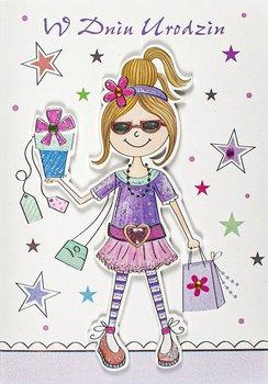 Kartka dla super dziewczyny M 716-Maja