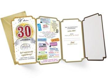 Kartka dla urodzonych w 1991r na 30 lat PM 170-Kukartka