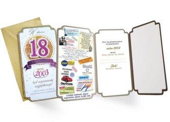 Kartka na 18 tkę dla urodzonych w 2003 r PM 168-Kukartka