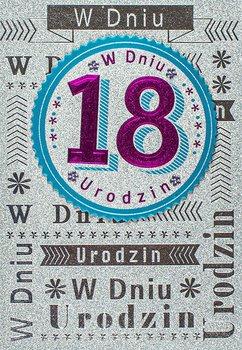 Kartka na 18 urodziny dla koleżanki M 724-Maja