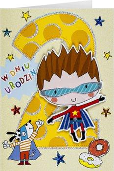 Kartka na 2 latka dla chłopca M 689-Maja