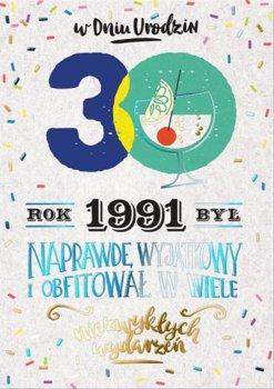 Kartka na 30 lat dla urodzonych w 1991r, PR 298-Kukartka