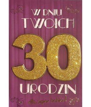 Kartka na 30-te urodziny 4k 26-yeku