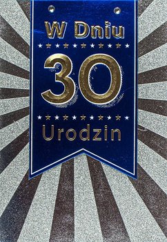 Kartka na 30 urodziny dla kolegi M 718-Maja