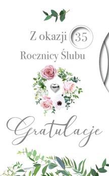 Kartka na 5,10,15,20,25,30,35,40,45,50,55,60 rocznicę ślubu LUX 48-Armin Style
