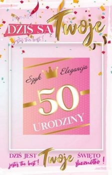 Kartka na 50 urodziny 2K 04-yeku