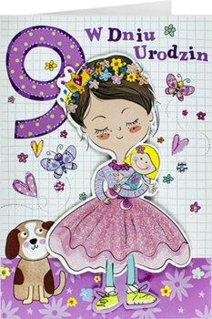 Kartka na 9 urodziny dla dziewczynki M 704-Maja