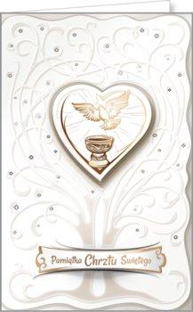 Kartka na chrzest św., CHP 01-AB Card