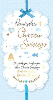 Kartka na  Chrzest św. dla chłopczyka PM 70-Kukartka